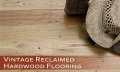 Vintage Reclaimed Hardwood Flooring