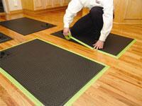 Hardwood Floor Drying