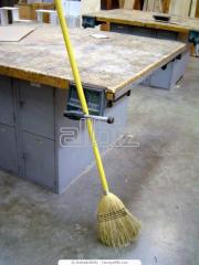 Cleaning of commercial establishments