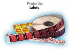 Labels producing
