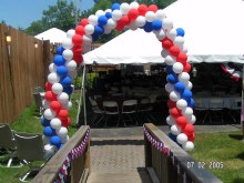 Wedding Arches and Balloon Decorations