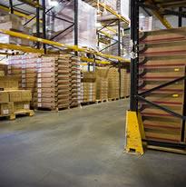 Dedicated warehousing service