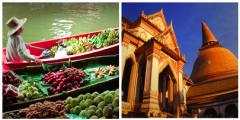 Floating Market & Rose Garden Tour
