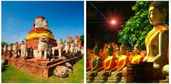 Ayutthaya Tour by Car & Boat