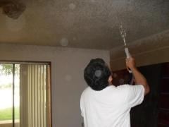 Drywall and stucco repair in conjunction with