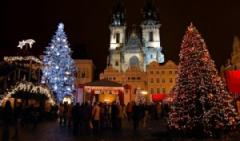 Christmas holidays in the historic city of Prague
