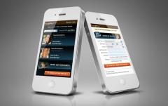 Mobile Landing Page Design