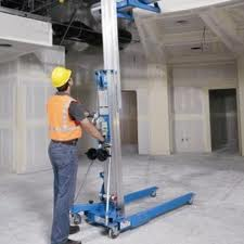 8ft. Material Lift Rent
