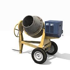 Small Concrete Mixer Rent