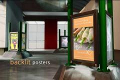 Backlit Color Posters
