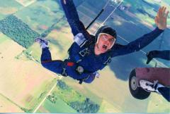 Solo IAD skydiving