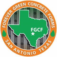 Forever Green Concrete Forms - ICF Block manufactured by Eterna Building Systems
