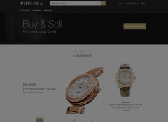 Co-signment luxury shop