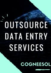Data Entry Services Provider – Outsource to Cogneesol