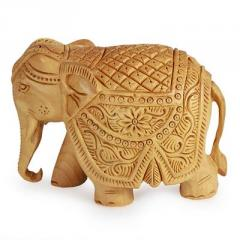 Hand Carved Elephants