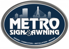 Exterior Signs Boston MA | Metro Sign and Awnings