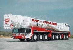 Liebherr 600 ton Capacity Hydraulic Truck Crane