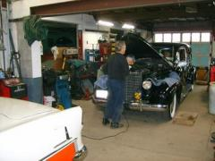 Maintenance, Service, Restorations of British,