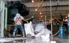 Gas/Diesel Slab Sawing