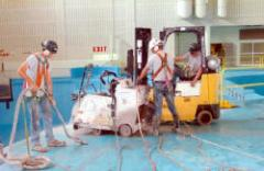 Electric Slab Sawing