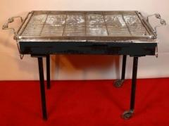 Bbq grill, charcoal 2' x 3'