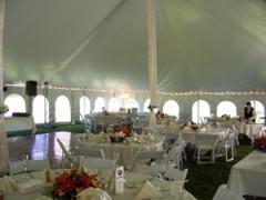 Outdoor Tented Event Rentals