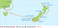 12 Nights Australia New Zealand Cruise