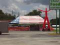 20 X 40 Flag tent renting