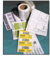 Variable Printed & Barcoded Labels