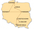 The Wonders of Poland - group travel - 12 days