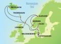 12-Day Norway, Iceland, & Faroe Islands from Copenhagen Cruise